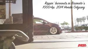 bisimoto odyssey engine 1000 hp bisimoto honda odyssey van burnouts youtube