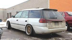 subaru wagon slammed legacy