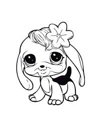 baby dog learn walk littlest pet shop coloring pages