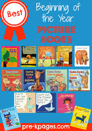 best beginning of the year books for pre k and kindergarten