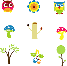 mushroom tree flower owl leaves png image pictures picpng