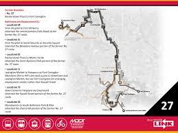 Baltimore Metro Map by Route 27 Mta Baltimorelink