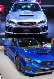 black subaru 2017 2017 tokyo auto salon japanese concept s4 sti bumpers match the