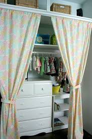 eden u0027s bright and sunshine blue nursery curtains covering the