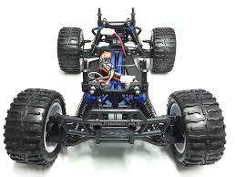 monster truck elettrico 1 10 emxt1 8 ammortizzatori esc 150a radio