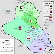 map of irak iraq map and iraq satellite images