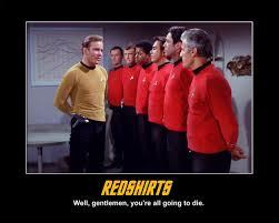 Redshirt Meme - redshirts reviewed joe s geek fest