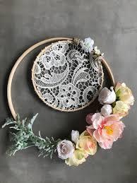 flower wall decor wedding flower decoration flower hoop boho