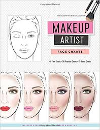 books for makeup artists makeup artist charts the beauty studio collection m