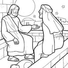 coloring jesus nicodemus archives mente beta