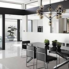 modern dining table lighting modern dining room decor with decorative multiple bulbs lighting
