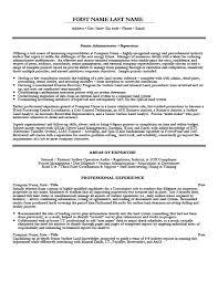 administration resume consular or administrative assistant resume template premium