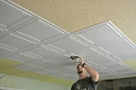 ceiling tiles budget upgrade good bye popcorn ceiling popcorn ceiling popcorn