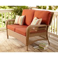 Martha Stewart Living Patio Furniture Furniture Patio Loveseat With Cushions For Exciting Outdoor