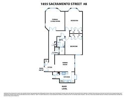 San Francisco Floor Plans 1855 Sacramento St 8 San Francisco Ca 94109 Mls 459377