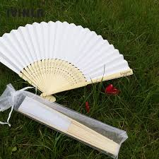 personalized wedding fans 21cm personalized wedding white fan folding wedding fans gift