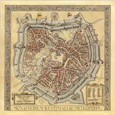Paper Towns On Maps Gorgeous Map Of Münster In 1636 X Post R Papertowns Europe