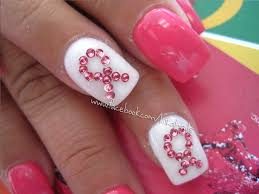 113 best breast cancer awareness nail design images on pinterest