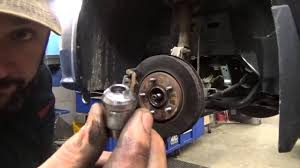 dodge grand caravan lower ball joint part i youtube