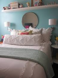 shabby chic daybed bedding kids eclectic with round mirror round