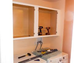How To Install Wall Cabinets In Laundry Room How To Tips