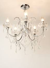 chandeliers bhs elsie 12 light flush ceiling fitting offers home