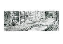 pencil drawings pencil drawings gardens
