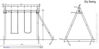 a frame plans free swing set a frame plans