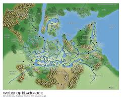 Pathfinder World Map by The Blackmoor Archives Home Of The Comeback Inn