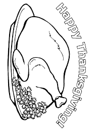 thanksgiving coloring page happy thanksgiving primarygames