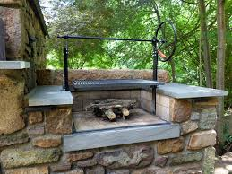 Backyard Smokers Plans Attractive Wood Fired Grill Plans 4 Wood Outdoor Brick Grills
