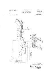 Sofa Bed Mechanisms Patent Us3005211 Sofa Bed Mechanism Google Patents