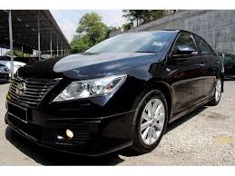 Toyota Camry 2013 Interior Toyota Camry 2013 V 2 5 In Selangor Automatic Sedan Black For Rm