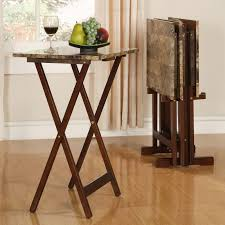 Modern Furniture Tv Table High Legs Modern Folding Coffee Table Tv Tray With Marble Top Ideas