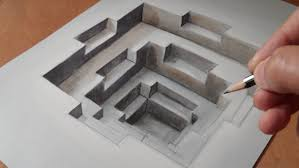 incredible hole how to draw 3d hole trick art trompe l u0027oeil