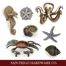 themed knobs coastal themed cabinet hardware starfish knob