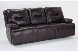 Bobs Sleeper Sofa Marco Leather Power Reclining Sofa Bobs Discount Furniture Design