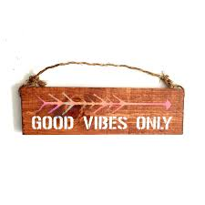 good vibes only sign bohemian urban outfitters brandy