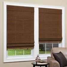 Bamboo Curtains For Windows Bamboo Shades U0026 Natural Shades Shades The Home Depot