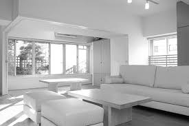 living room white living room black and white chairs living