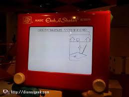 magic etch a sketch screen u2013 toy story queue u2013 disney u0027s hollywood
