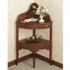 superb corner entryway table corner foyer table home design