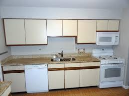 Wall Mounted Kitchen Cabinets Kitchen Elegant Retro Style Kitchen Design Ideas With White