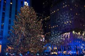 rockefeller tree lighting attracts thousands boston herald