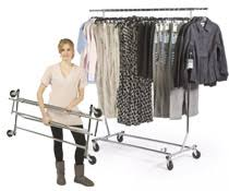 clothing u0026 garment racks rolling u0026 stationary