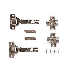 kitchen cabinet door hinges b q titus 110 sprung cabinet hinge pair