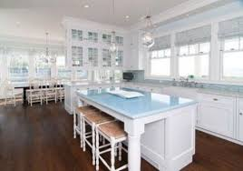 Coastal Living Kitchen - kitchen coastal kitchen interior ideas coastal kitchen curtains