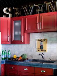 ikea red kitchen cabinets red kitchen cabinets black countertops kitchen decoration