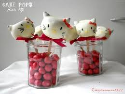 how to make hello kitty cake pops red ted art u0027s blog