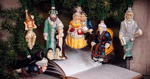 a carol ornament collection by vaillancourt folk